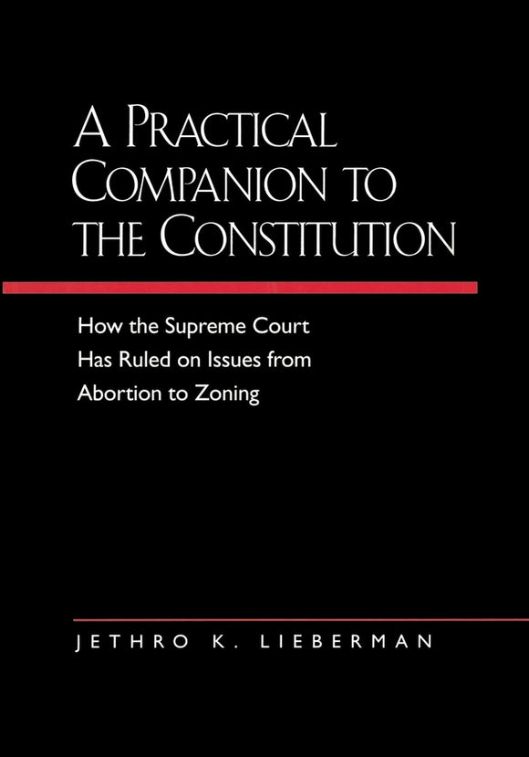 A Practical Companion to the Constitution