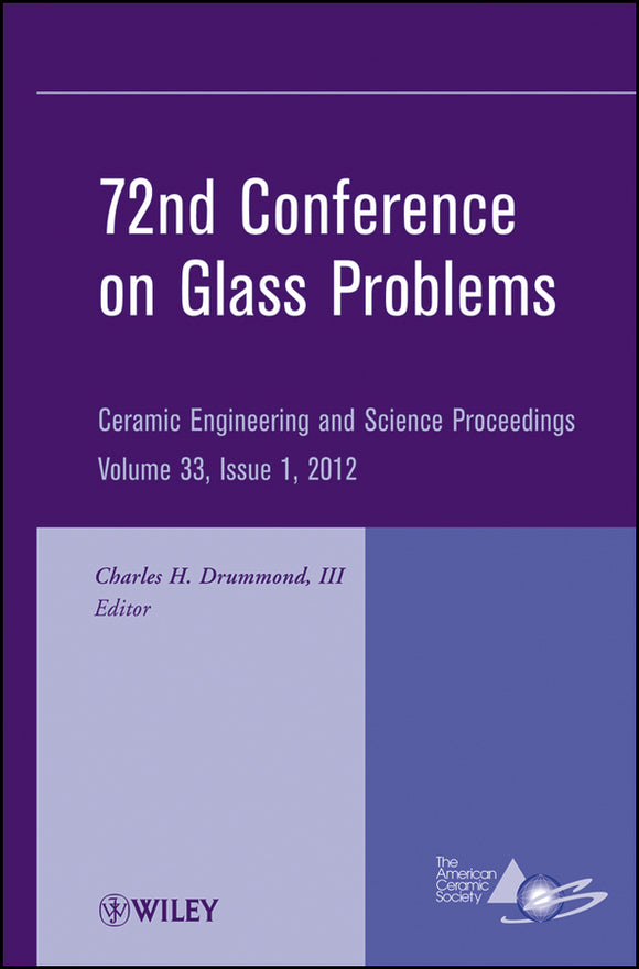 72nd Conference on Glass Problems