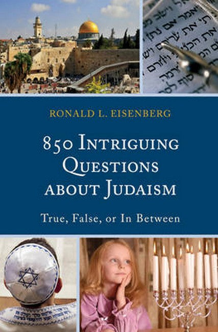 850 Intriguing Questions about Judaism