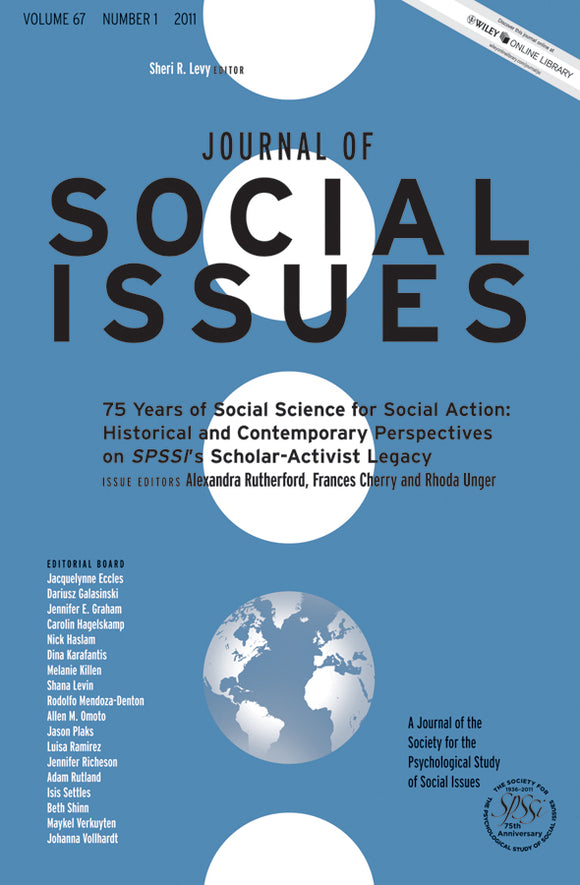 75 Years of Social Science for Social Action