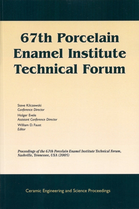 67th Porcelain Enamel Institute Technical Forum