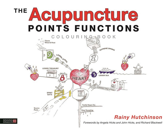 Acupuncture Points Functions Colouring Book