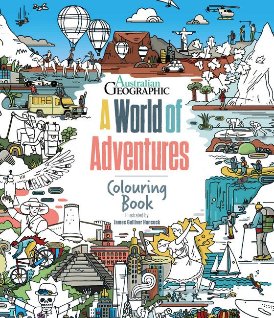 A World Of Adventures: Colouring Book