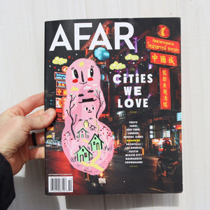 AFAR Magazine Painted Cover