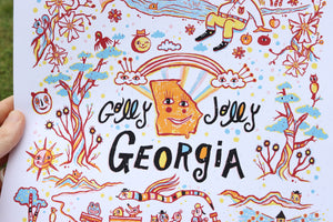 Golly Jolly Georgia Poster
