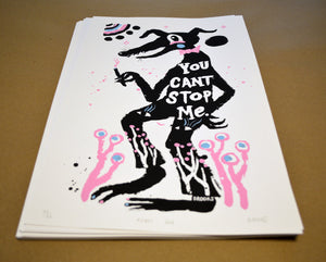 Silkscreen Poster - Rebel Dog