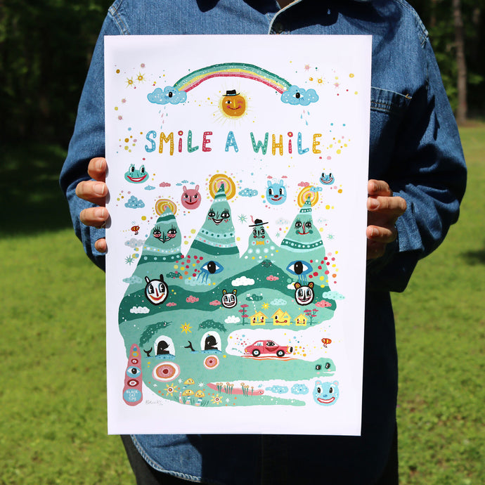 Smile A While Poster