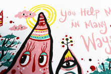 You Help Me in Many Ways Poster