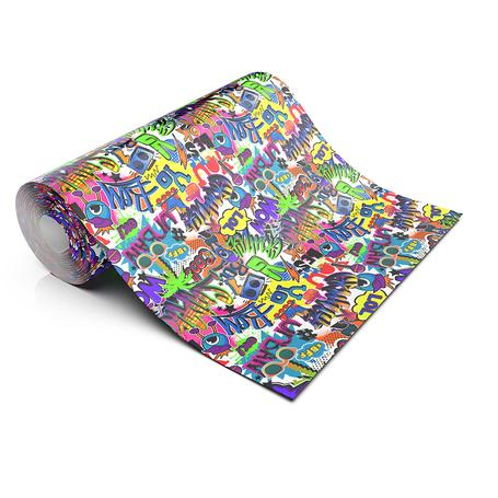 GRAFITTI LOL LIFESTYLE PATTERN HEAT TRANSFER VINYL
