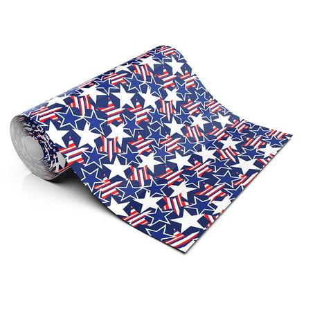 PATRIOTIC STARS LIFESTYLE PATTERN HEAT TRANSFER VINYL