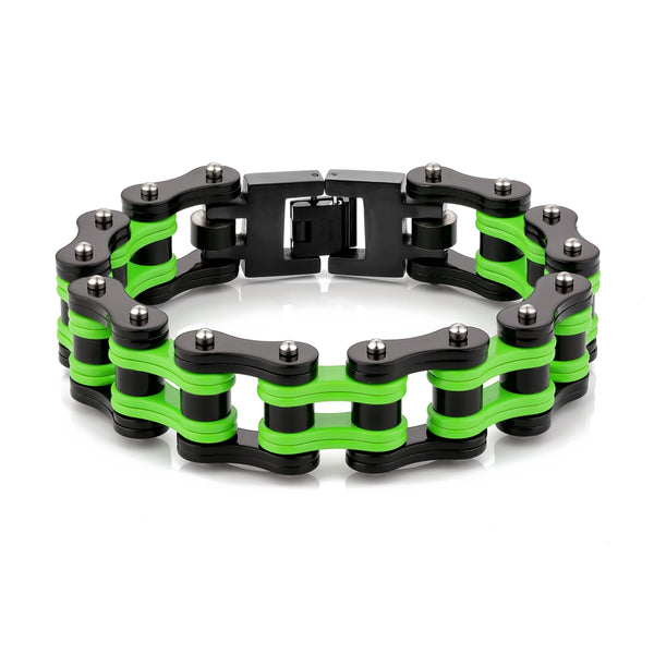 Cycolinks Mens Bracelet Collection Kawasaki Ninja Color