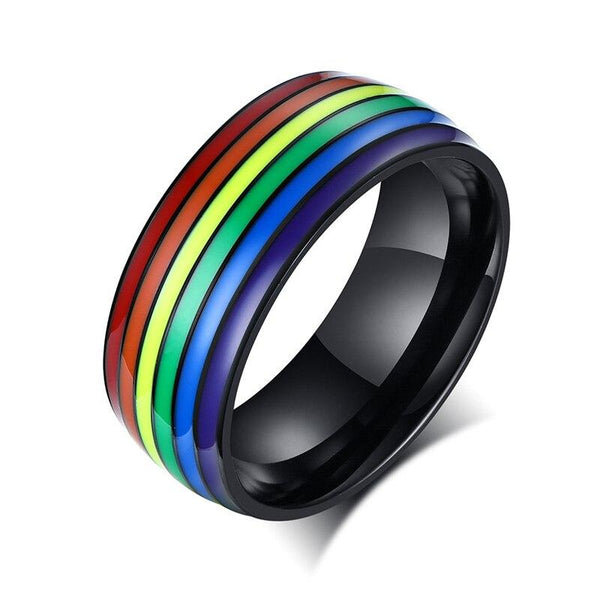 Cycolinks Pride Rainbow Unisex Ring