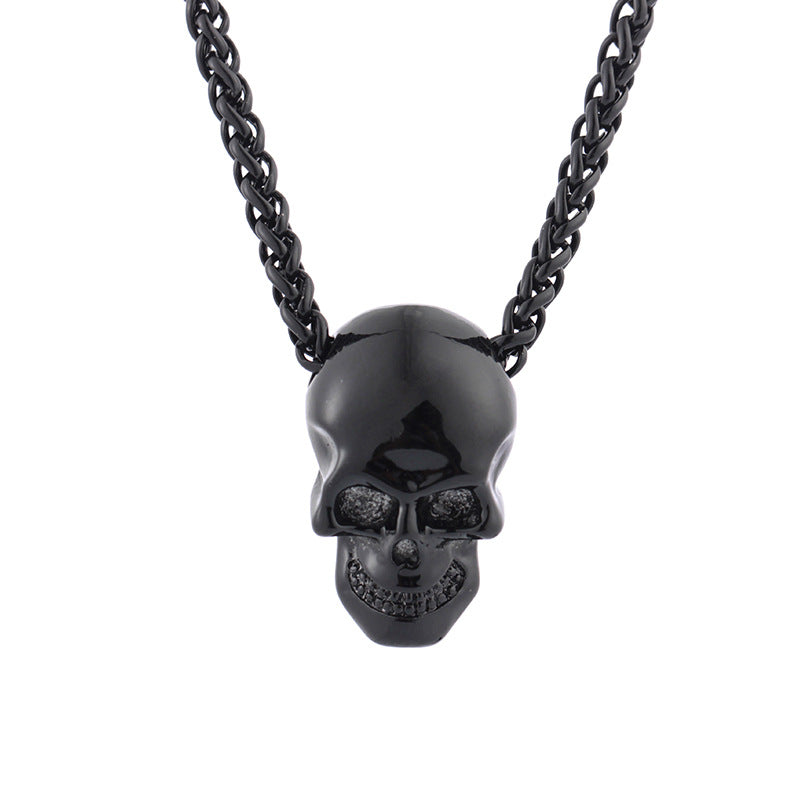 Cycolinks Punk Skull Necklace - Cycolinks