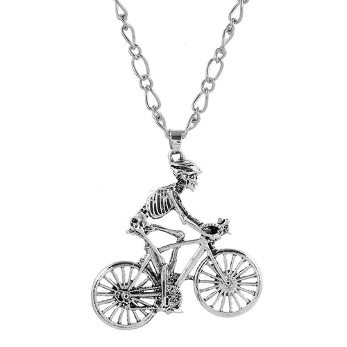 Cycolinks Skeleton Biker Necklace - Cycolinks