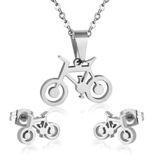 Load image into Gallery viewer, Cycolinks Bike Necklace Cuff-link Set - Cycolinks