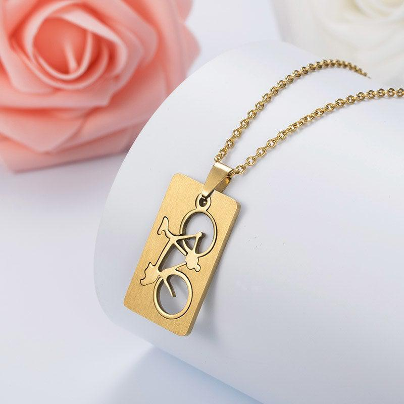 Cycolinks Bicycle Pendant Necklace - Cycolinks