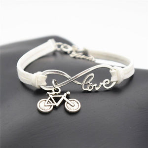 Handmade Bicycle Love Bracelet - Cycolinks