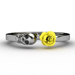 Cycolinks Skull Rose Ring - Cycolinks