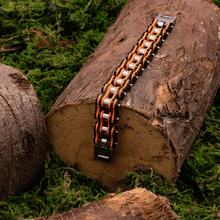 Load image into Gallery viewer, Cycolinks Punk Orange Mens Bracelet - Cycolinks