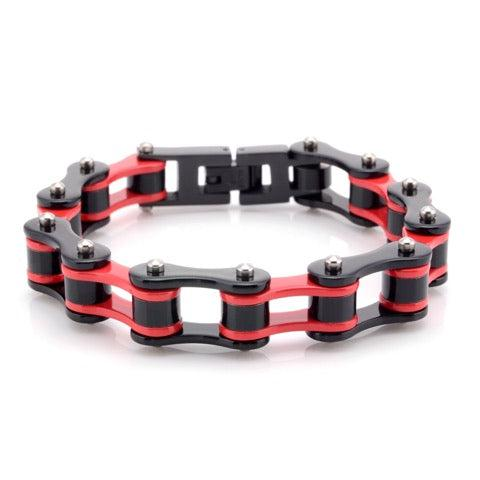 Cycolinks Ducati Red Bike Chain Bracelet - Cycolinks
