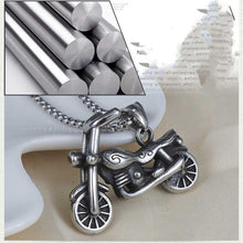 Load image into Gallery viewer, Cycolinks Retro Stainless Steel Motorcycle Necklace - Cycolinks