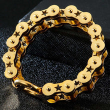 Load image into Gallery viewer, Cycolinks Star Bike Chain Bracelet - Cycolinks