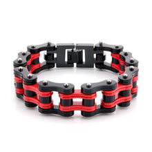 Load image into Gallery viewer, Cycolinks Ducati Red Bike Chain Bracelet - Cycolinks