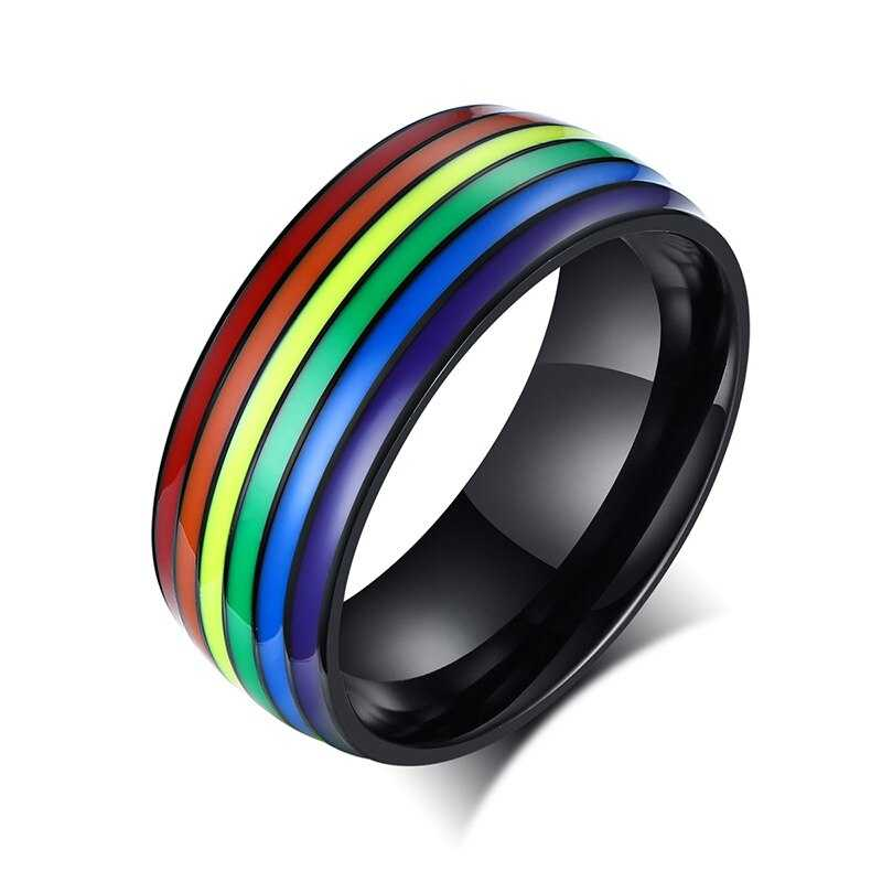 Cycolinks Pride Rainbow Unisex Ring - Cycolinks