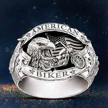Load image into Gallery viewer, Cycolinks American Biker Motorcycle Ring - Cycolinks