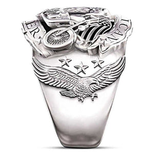 Cycolinks American Biker Motorcycle Ring - Cycolinks