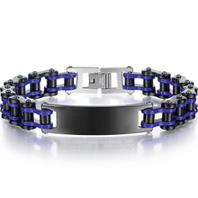 Load image into Gallery viewer, Cycolinks Gnarly Personalised Bike Chain ID Bracelet - Cycolinks