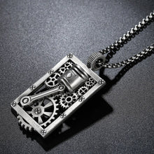 Load image into Gallery viewer, Cycolinks Geared Men's Biker Necklace - Cycolinks