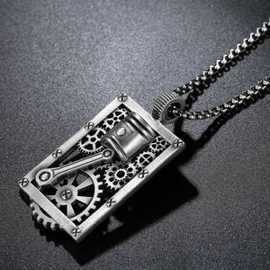 Cycolinks Geared Men's Biker Necklace - Cycolinks