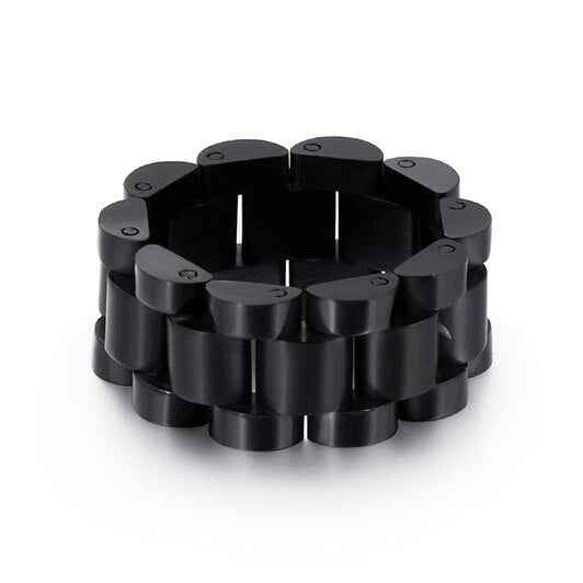Cycolinks Watchband Style Ring 10MM - Cycolinks