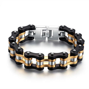 Cycolinks Gold Digger 16mm Bike Chain Bracelet - Cycolinks