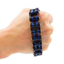 Load image into Gallery viewer, Cycolinks Dark Twilight Mens Bike Bracelet - Cycolinks