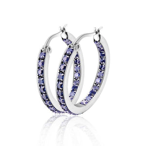 Cycolinks Classic CZ Stone Earrings - Cycolinks