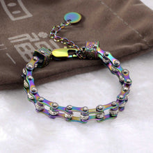 Load image into Gallery viewer, Cycolinks Womens Charm Rainbow Crystal Bracelet - Cycolinks