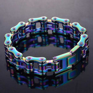 Cycolinks Mens Rainbow Bracelet - Cycolinks