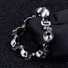 Load image into Gallery viewer, Cycolinks Punk Skull Bracelet - Cycolinks