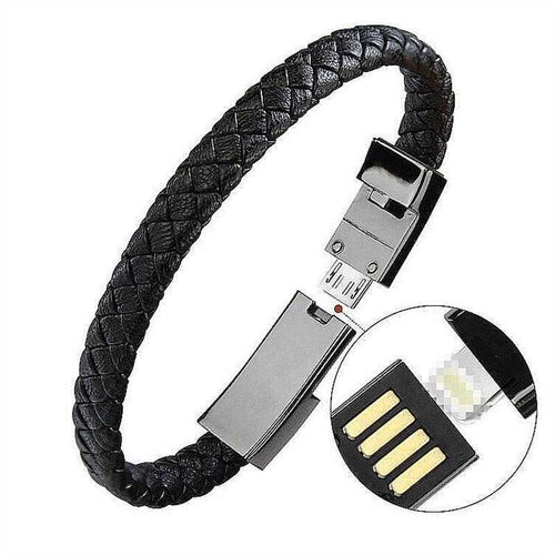Cycolinks USB Phone Charger Bracelet - Cycolinks