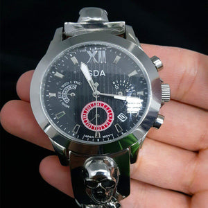 Cycolinks Japanese Movement Quartz Skull Watch - Cycolinks