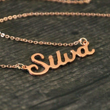 Load image into Gallery viewer, Cycolinks Personalised Name Necklace - Cycolinks