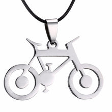Load image into Gallery viewer, Cycolinks Bike Pendant Mens Necklace - Cycolinks