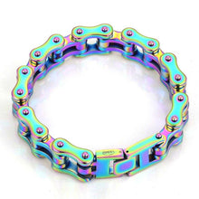 Load image into Gallery viewer, Cycolinks Mens Rainbow Bracelet - Cycolinks