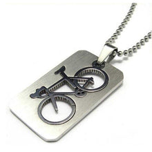 Load image into Gallery viewer, Cycolinks Bicycle Pendant Necklace - Cycolinks