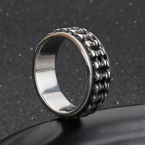 Cycolinks Retro Stainless Steel Bike Chain Ring - Cycolinks