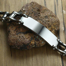 Load image into Gallery viewer, Cycolinks Personalised Mens Bike Bracelet - Cycolinks