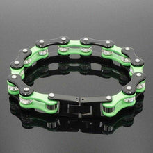 Load image into Gallery viewer, Cycolinks Emerald Crystal Bracelet - Cycolinks