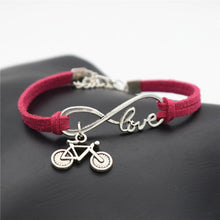 Load image into Gallery viewer, Handmade Bicycle Love Bracelet - Cycolinks